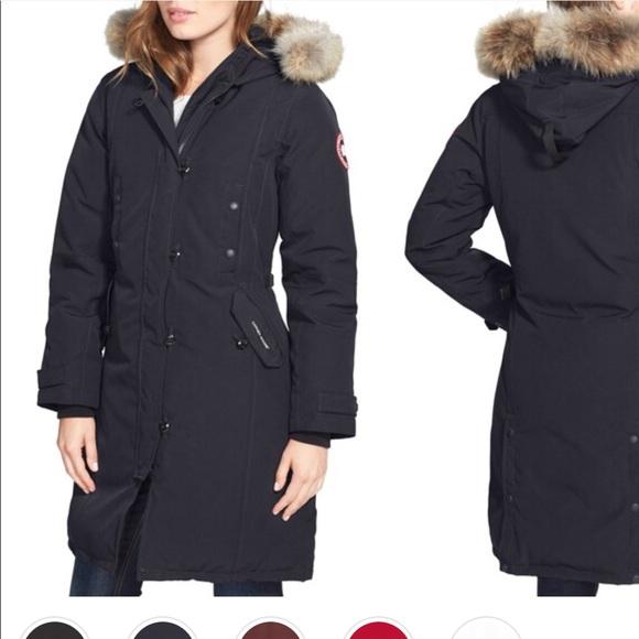 canada goose jackets coats kensington slim fit down parka poshmark rh poshmark com
